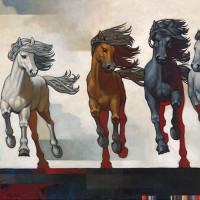 Художник Крейг Козак (Craig Kosak) - фото KO00013lg-200x200, главная Фото , конный журнал EquiLIfe