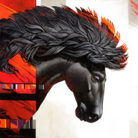 Художник Крейг Козак (Craig Kosak) - фото b98e7c129dfe63a8c3627d263b09f45f-200x200, главная Фото , конный журнал EquiLIfe