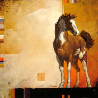 Художник Крейг Козак (Craig Kosak) - фото cfc675fa697468ee269e742af4357a44-horse-paintings-animal-paintings-200x200, главная Фото , конный журнал EquiLIfe