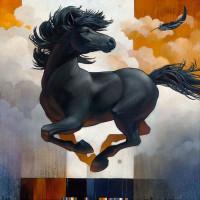Художник Крейг Козак (Craig Kosak) - фото cfdbe1597573c9abc273a90eb2f34992-horse-paintings-equine-art-200x200, главная Фото , конный журнал EquiLIfe