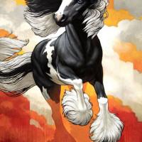 Художник Крейг Козак (Craig Kosak) - фото eaed561e7d850aa9e6fc0b4466e71393-gypsy-200x200, главная Фото , конный журнал EquiLIfe