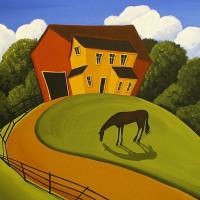 Художница Дэбби Крисвелл (Debbie Criswell) - фото 864a7d26bc24cfa81f0bc6f8e99ddada-200x200, главная Фото , конный журнал EquiLIfe