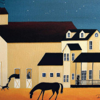 Художница Дэбби Крисвелл (Debbie Criswell) - фото DEC92-200x200, главная Фото , конный журнал EquiLIfe