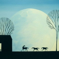 Художница Дэбби Крисвелл (Debbie Criswell) - фото qNuEzOCAycg-200x200, главная Фото , конный журнал EquiLIfe