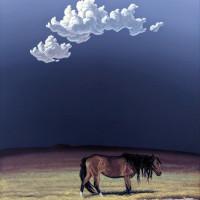 Художник Фил Эпп (Phil Epp) - фото Phil-Epp-Lone-Horse-1-600x740-200x200, главная Фото , конный журнал EquiLIfe