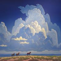 Художник Фил Эпп (Phil Epp) - фото Storm-Clouds-With-Horses-200x200, главная Фото , конный журнал EquiLIfe