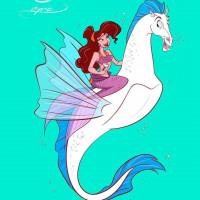Принцессы Диснея и их лошадки: добрые рисунки художника Alex Pick - фото tumblr_1659c484c02d42a5a2b8fcc344e8c702_37c9d953_1280-200x200, главная Фото , конный журнал EquiLIfe