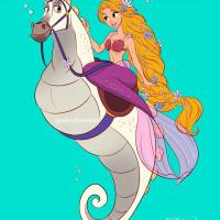 Принцессы Диснея и их лошадки: добрые рисунки художника Alex Pick - фото tumblr_2a271e6e7421b9bc76f4c3d41c5843c3_b11dde70_1280-200x200, главная Фото , конный журнал EquiLIfe