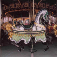 Карусельные лошадки - фото 13-200x200, главная Конные истории Фото , конный журнал EquiLIfe