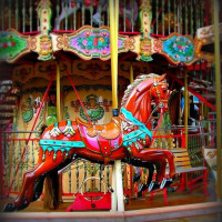 Карусельные лошадки - фото 15-200x200, главная Конные истории Фото , конный журнал EquiLIfe